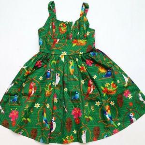 Disney Dress Shop Tiki Room Birds Kids Dress